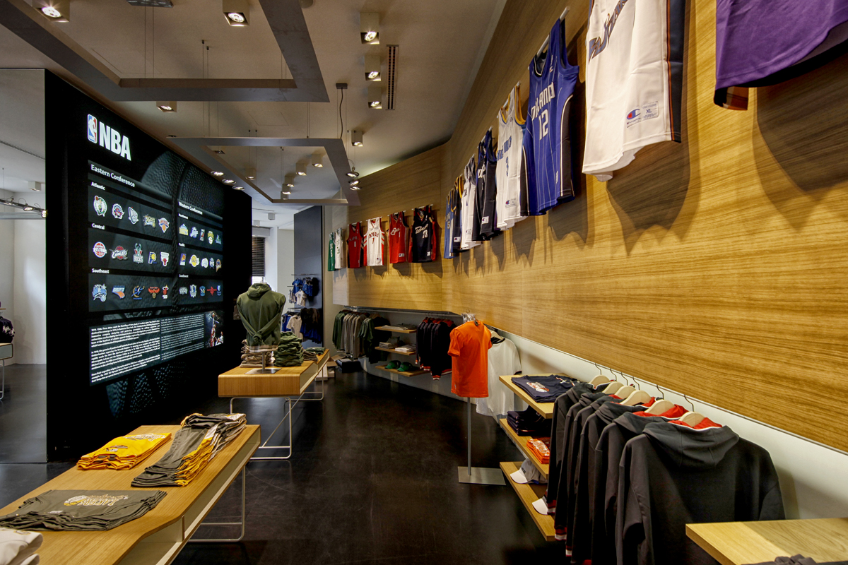 The Basketball Central Flagship store in Piazza Argentina Milano is a  project attesting to the partnership between the American National  Basketball ... 821086f9209f