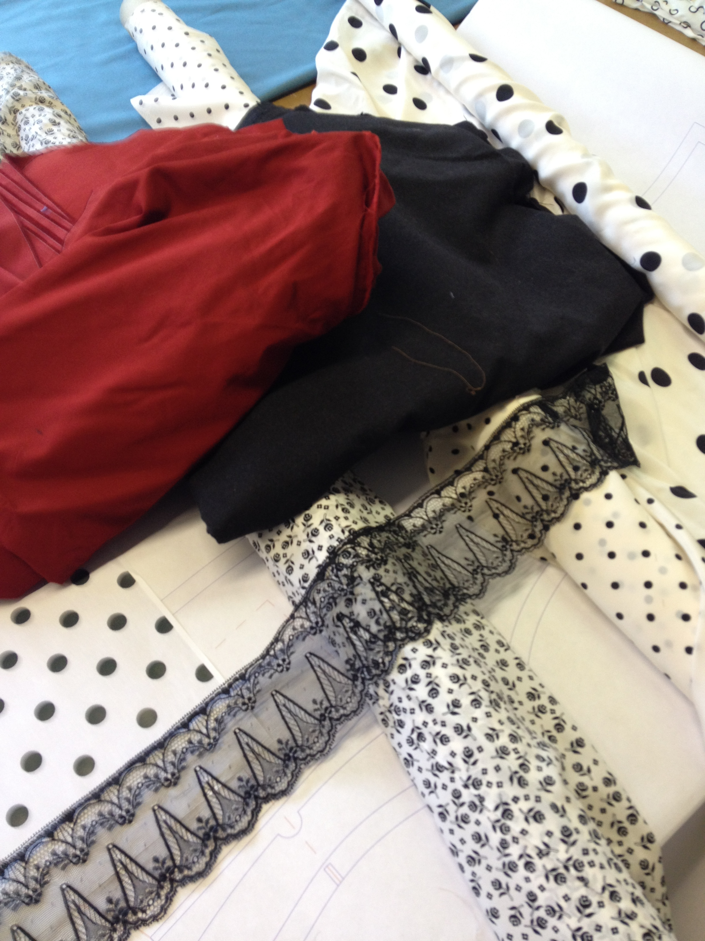 new fabrics.