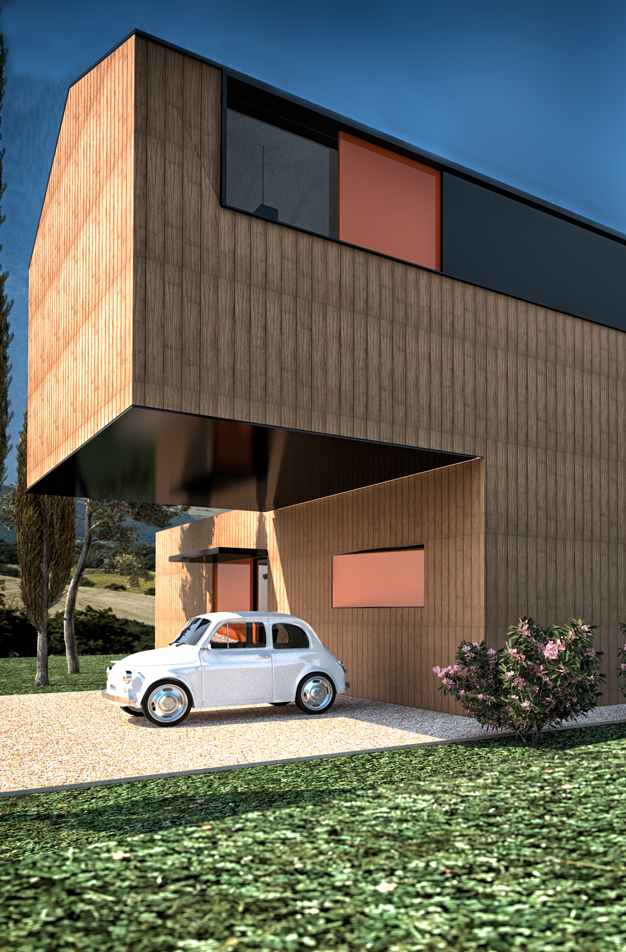 Modular Residential Home, Marche Province, Italy.