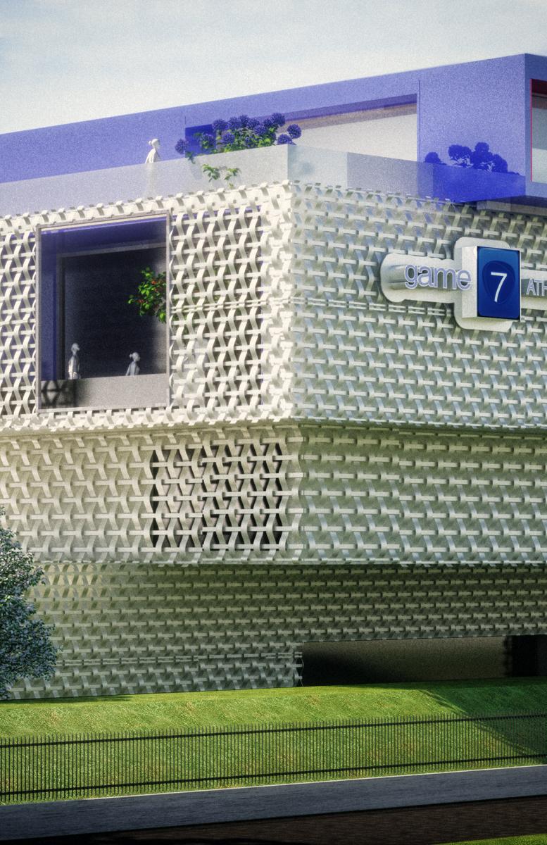 game7athletics headquarters building, Carpi Modena, Italy.